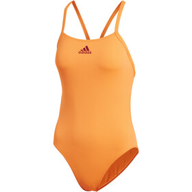 adidas Performance Swim Infinitex+ Swimsuit Damer, solar orange/active marine